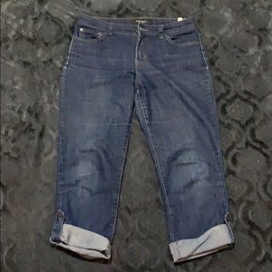 Nine West Capri jeans size 8